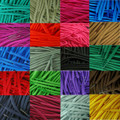 Cord 5mm Plain/Block Colour Strong Shoe Boot/Hiking Laces