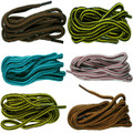 5mm Striped Laces For Boots/Shoes