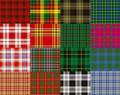 TZ Laces® Branded Flat 10mm Scottish Tartan dress shoe Laces fashion shoes new