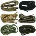 TZ Laces® 6mm Cord Military Coloured Shoelaces Bootlaces 6 Colours 17 Lengths