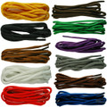 TZ Laces 4mm Cord Coloured Shoelaces Shoe Laces Bootlaces 11 Colours 17 Lengths