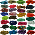TZ Laces® 6mm Oval Shoelaces Shoe Laces football boot laces 31 Colours 8 Lengths