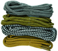 TZ Laces® 4mm cord Diamond check pattern shoelaces Hiking/Walking/Work Boots