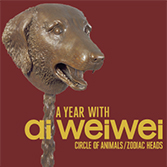 A Year With Ai Weiwei: Circle of Animals/Zodia Heads, through October 2018, Civic Center Park, downtown Denver