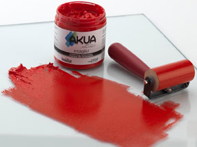 Akua Intaglio with plate & roller