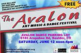 The Avalon: Art, Music and Dance Festival