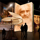 Leonardo da Vinci: 500 Years of Genius at the Denver Museum of Nature and Science, through August 25, 2019