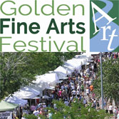 Golden Fine Arts Festival, August 18-19, Historic Downtown Golden, CO