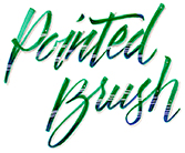 Brush Calligraphy Class with Renee Jorgensen, Saturday, November 27, 11am-4pm, $90, Denver store only