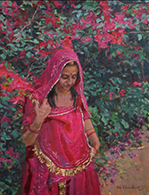 Demo & Dialogue: Oil Painting with Raj Chaudhuri, Saturday, February 2, 1-3pm