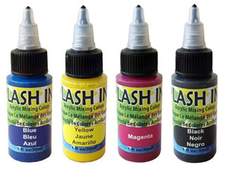 Splash Ink bottles
