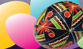 Ukrainian Egg Decorating Class with Helen Lozynsky, Saturday, March 30, 1-3pm, $40