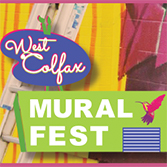 West Colfax Mural Fest, Saturday, August 11, 11am-6pm, Lamar Station Plaza, Lakewood, CO
