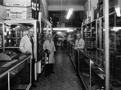 Meininger store, inside, 409 16th St.