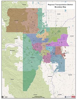 RTD District Map