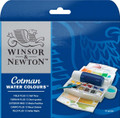 Winsor & Newton Cotman Watercolor Half Pans 12pc Set