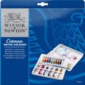 Winsor & Newton Cotman Watercolor Palette 12pc Set