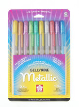 Gelly Roll Assorted Metallic 10pc Set