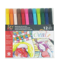 Koi Color Brush Assorted 12pc