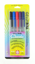Gelly Rolls Assorted Set 5pc