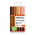 Molotow Paint Marker Character Set 6pc