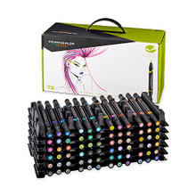 Prismacolor Brush Marker 72pc Set