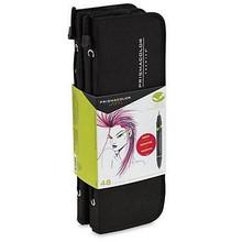 Prismacolor Brush Marker 48pc Set w/Case