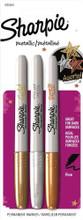 Sharpie Marker Metallic 3pc Set