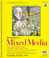 Strathmore 300 Series Mixed Media Pad 5.5x8.5