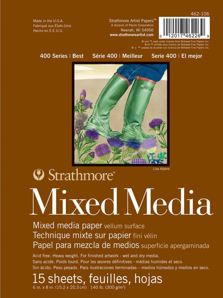 "Strathmore Printmaking Paper Pad 11/""x14/""-30 Sheets"