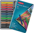 Derwent Inktense Blocks 12pc Tin Set