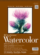 Strathmore Watercolor Pad 140lb CP 9x12 Pad