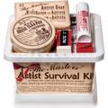 Artist Survival Kit In Brush Basin