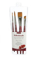 Princeton Velvetouch Professional 4-pc Brush Set