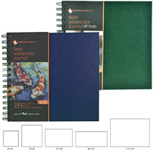 hand•book journal co. Field Watercolor Journals, Cold Press and Hot Press