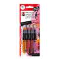 Marabu Mixed Media Art Crayon Lovely Red Set
