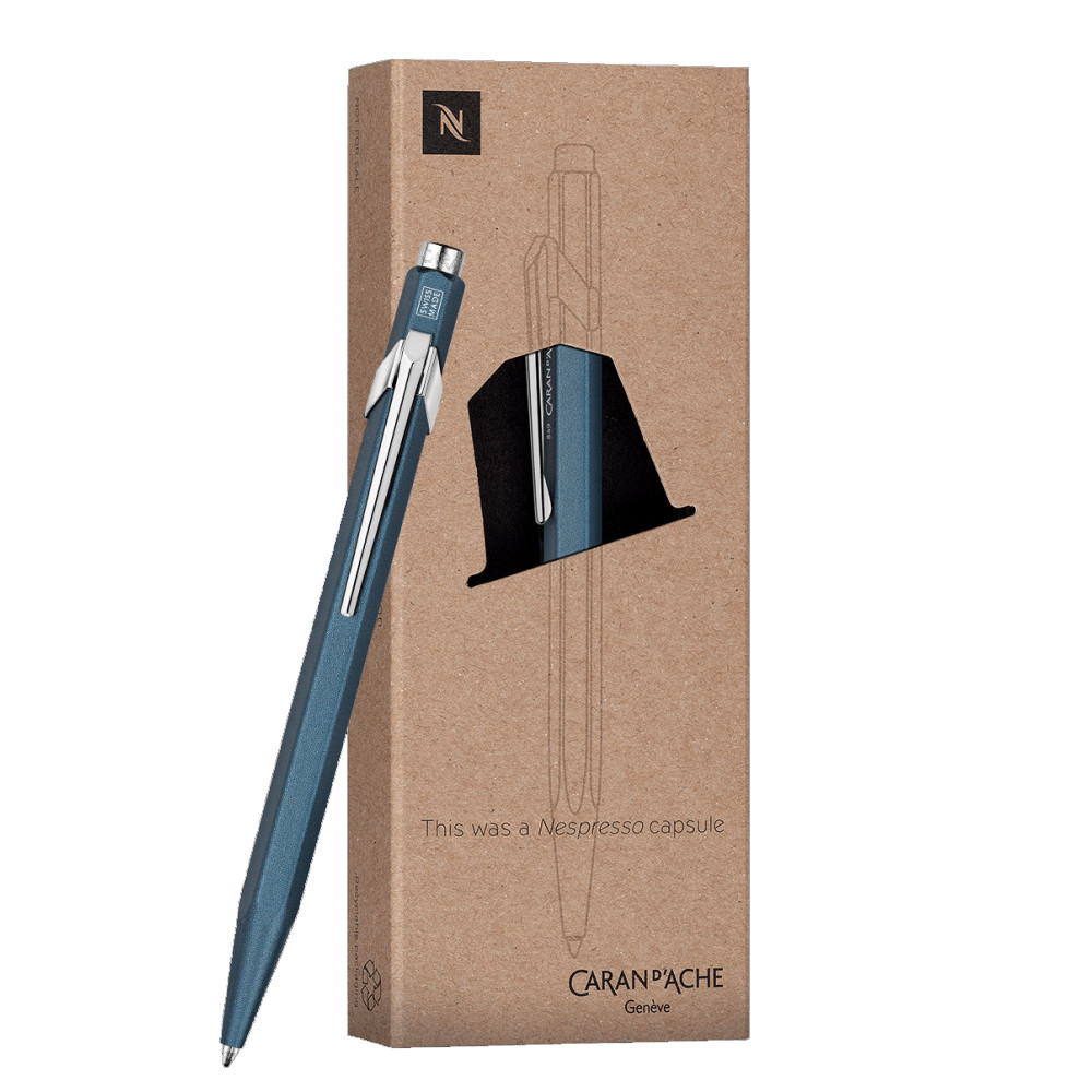 caran d 39 ache 849 nespresso ballpoint pen with case meininger art materials denver co