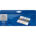 Winsor & Newton Cotman Watercolor Blue Box Set