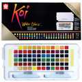 KOI Watercolor Studio 72-color Set