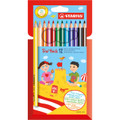 Stabilo TRIO Thick Pencil 12-color Set