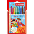 Stabilo 2-IN-1 Marker 10-color Set