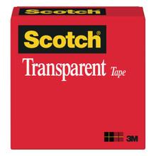 Tape 600 Transparent 3/4x72yd Box