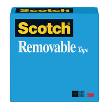 Tape 811 Removable 3in Cr 1inx72yd
