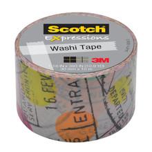 Washi Tape Travel 1.18inx393in