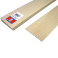 "Basswood Clapboard Siding 3"" x 1/4"" x 24"""