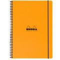 Rhodia Elasti Book 9x11.75 Lined Orange