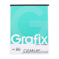 Grafix Clear-Lay Pad .003mm 11in x 14in