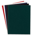 Hygloss Self-Adhesive Velour Paper Assorted Colors 5pk 8.5in x 11in