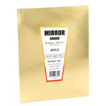 Hygloss Mirror Board Gold 5pk 8.5in x 11in