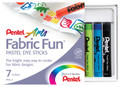 Pentel Fabric Dye Stick Set